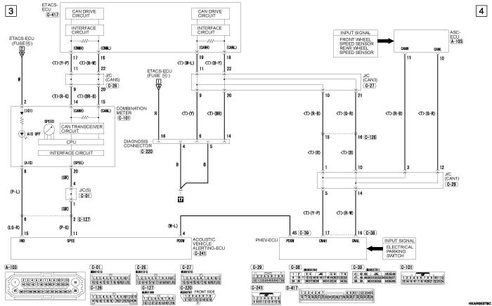 mmc outlander phev ACOUSTIC  VEHICLE ALERTING SYSTEM левый руль