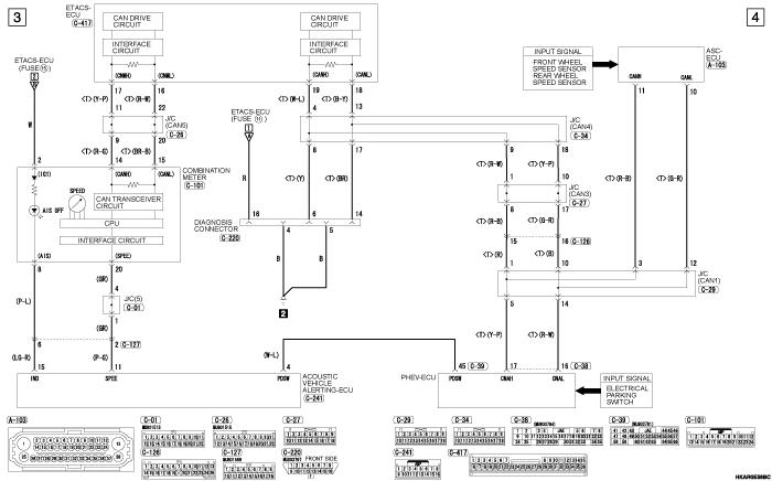 mmc outlander phev ACOUSTIC  VEHICLE ALERTING SYSTEM (правый руль)