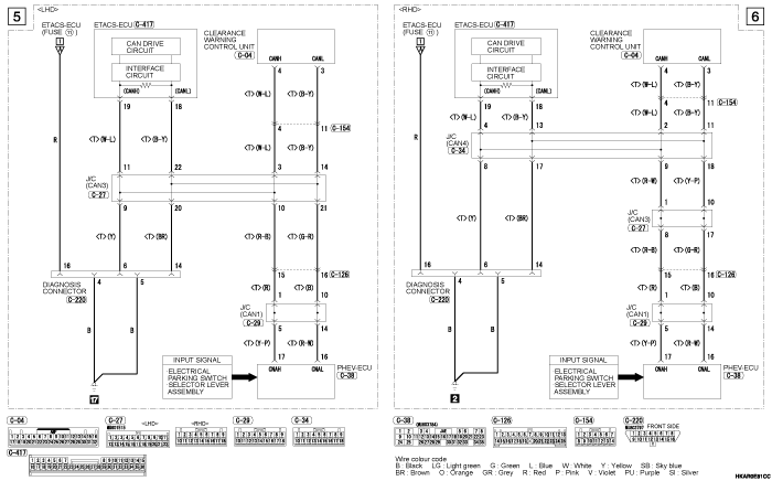 mmc outlander phev REVERSING  SENSOR SYSTEM VEHICLES WITHOUT ULTRASONIC MISACCELERATION MITIGATION SYSTEM/CORNER  SENSOR SYSTEM