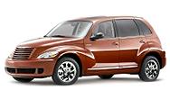 Размер щёток стеклоочистителя для Chrysler PT Cruiser