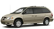 Размер щёток стеклоочистителя для Dodge Caravan