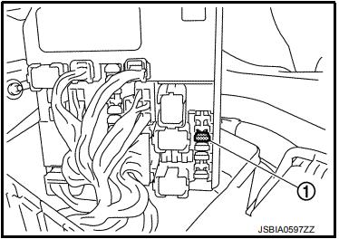 Nissan XTrail T32 предохранитель бензонасоса