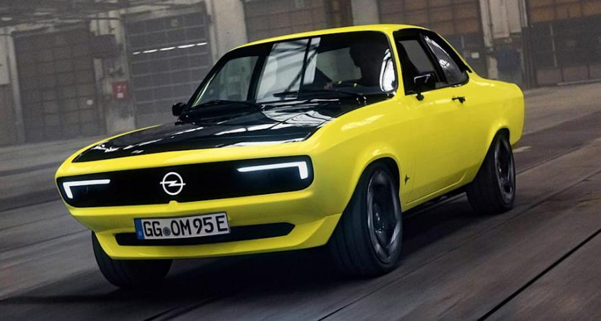 Opel Manta GSe ElektroMOD - механическая, заднеприводная, электрическая, офигенная