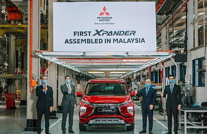 MITSUBISHI MOTORS начинает производство XPANDER в Малайзии