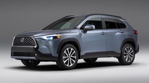 Гибридная версия Toyota Corolla Cross находится в разработке