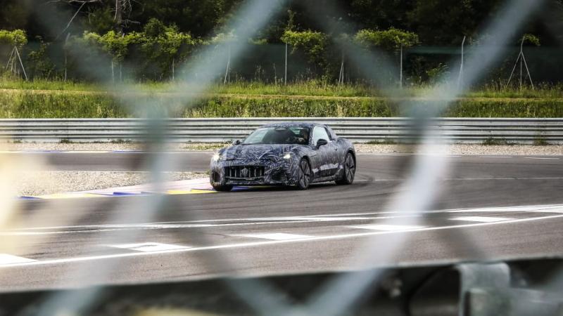 Maserati представила полностью электрический прототип GranTurismo 2022 года