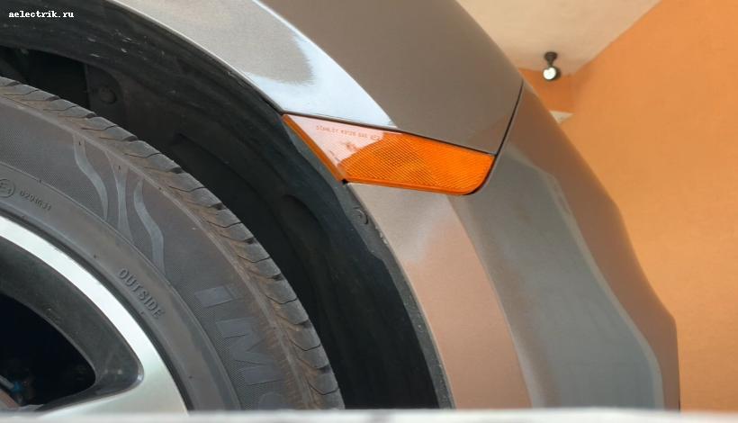 💡Honda Odyssey замена лапочки поворотника в бампере