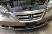🚘 Honda Odyssey снятие переднего бампера
