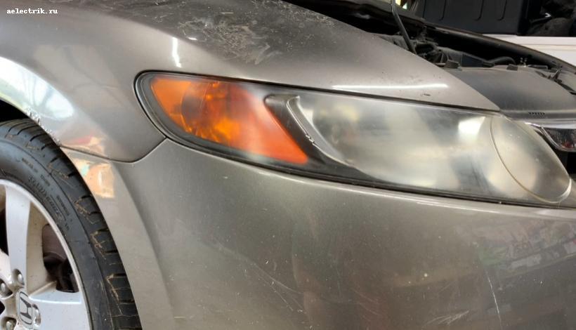 💡Замена ламп поворотника Honda Civic